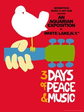 Woodstock - Festival Poster