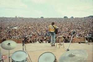 Woodstock- From Behind the Drums and Into the Crowd