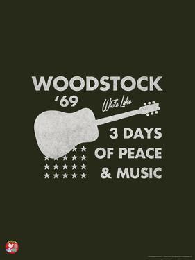 Woodstock- Guitar Poster
