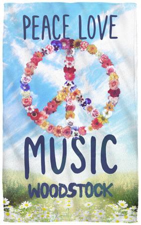Woodstock - Open Love Beach Towel
