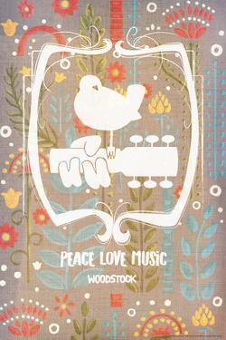 Woodstock - Peace Love Music