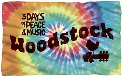Woodstock - Tie Dye Fleece Blanket