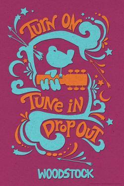 Woodstock - Turn On, Tune In, Drop Out (Purple)