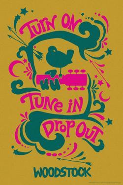 Woodstock - Turn On, Tune In, Drop Out (Yellow)
