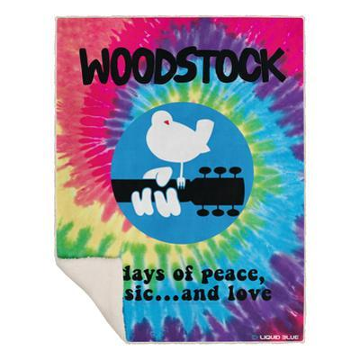 Woodstock - Woodstock Spiral Blanket