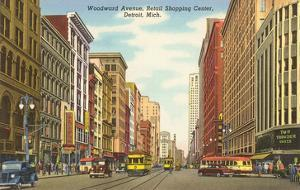 Woodward Avenue, Detroit, Michigan