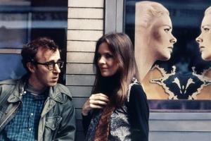 Woody Allen and Diane Keaton ANNIE HALL, 1977 directed by Woody Allen (photo)