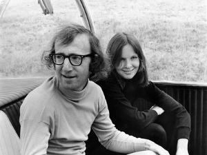 Woody Allen and Diane Keaton SLEEPERS, 1973 directed by Woody Allen (b/w photo)