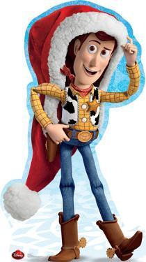 Woody Holiday - Disney Lifesize Cardboard Cutout