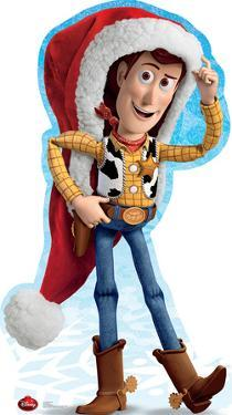 Woody Holiday - Disney Lifesize Standup