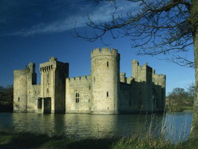 Bodiam Castle, Sussex, England, United Kingdom, Europe