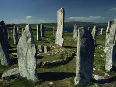 Callanish Standing Stones, Lewis, Outer Hebrides, Scotland, United Kingdom, Europe