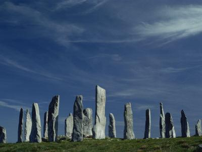 Callanish Stone Circle, Lewis, Outer Hebrides, Western Isles, Scotland, United Kingdom, Europe