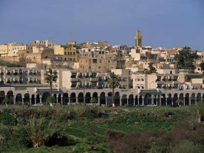 City Skyline, Meknes, Morocco, North Africa, Africa