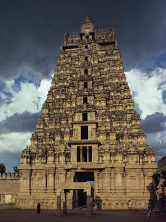 Gateway Shrine, Srirangam Temple, Tamil Nadu State, India