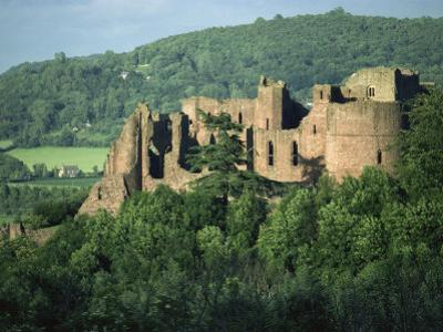 Goodrich Castle, Herefordshire, England, United Kingdom, Europe