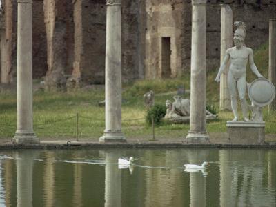 Hadrian's Villa, UNESCO World Heritage Site, Tivoli, Lazio, Italy, Europe