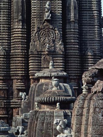 Lingaraja Temple, Bhubaneswar, Orissa State, India