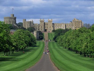 Long Walk from Windsor Castle, Berkshire, England, United Kingdom, Europe