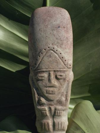 Pre-Columbian Indian Artefact, from the Hodges Collection, Haiti, West Indies, Caribbean