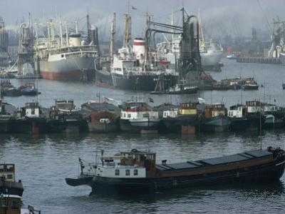 Rotterdam Port, Holland, Europe