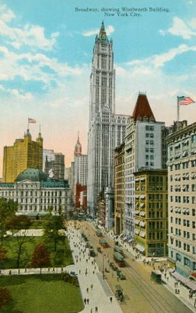 Woolworth Building, Broadway, New York City