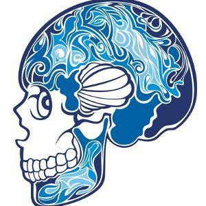 Skull by worksart
