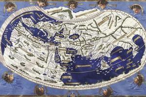 World Map According to Ptolemy's Views