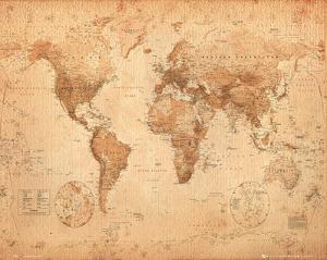 World Map - Antique