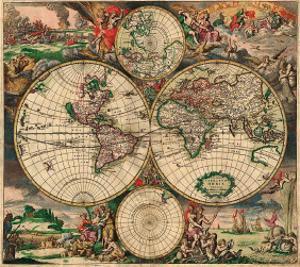 World Map, c.1689