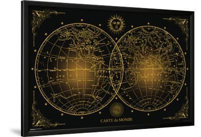 World Map- Cart Du Monde