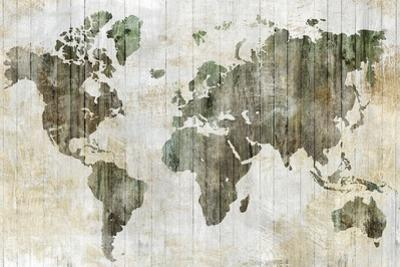 World Map I by Isabelle Z