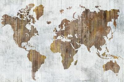 World Map II by Isabelle Z