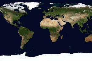 World Map, June 2004