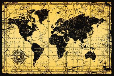 World Map-Old Style