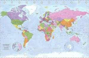 World Maps Posters At AllPosterscom - High quality world map poster