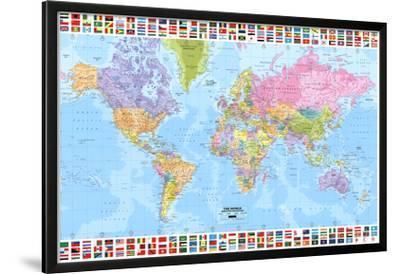 World Map - Political
