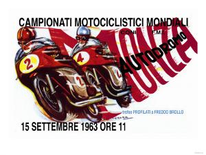 World Motorcycle Championship, 1963
