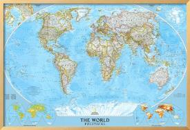 Affordable World Maps Art Poster for sale at AllPosters.com