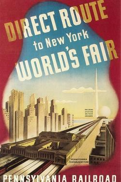 World's Fair Travel Poster