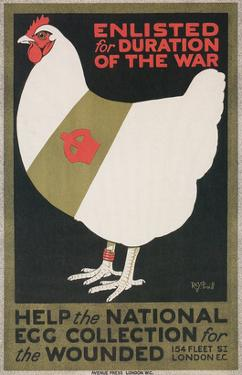 World War I Poster for Egg Collection