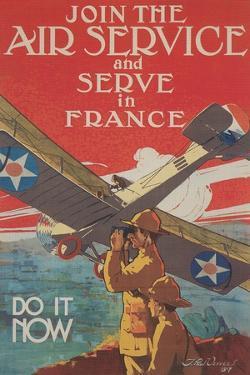 World War I Raf Recruitment Poster