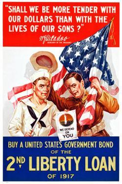 World War I War Bonds Poster