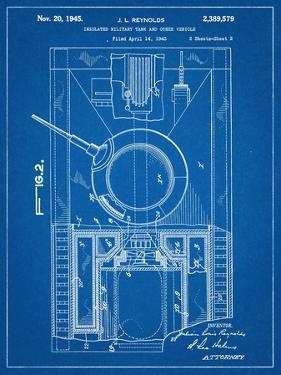 World War II Military Tank Patent