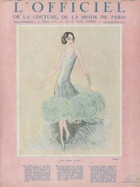L'Officiel, July 1926 - Miss Dora Duby by Worth