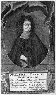 Johann Conrad Durr by WP Kilian
