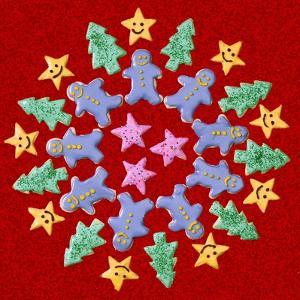 Wreath of Christmas Cookies