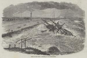 Wreck of the Barque Successor, in the Madras Roads