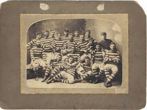 Auckland Touring Team, 1883 by Wrigglesworth and Binns