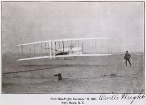 Wright Brothers Flight at Kitty Hawk
